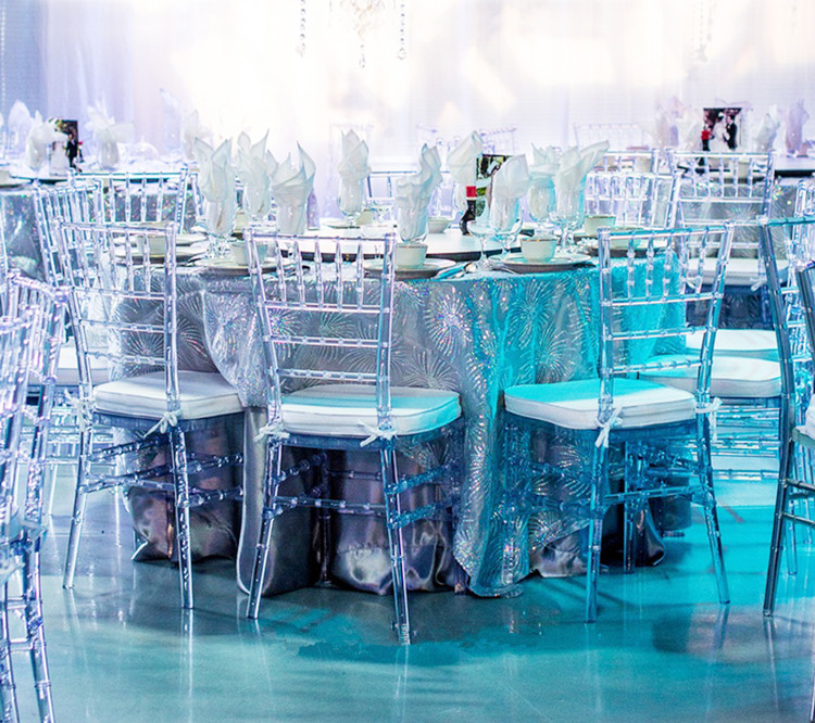 Clear resin chiavari chair gallery
