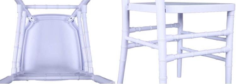 white chiavari chairs resin