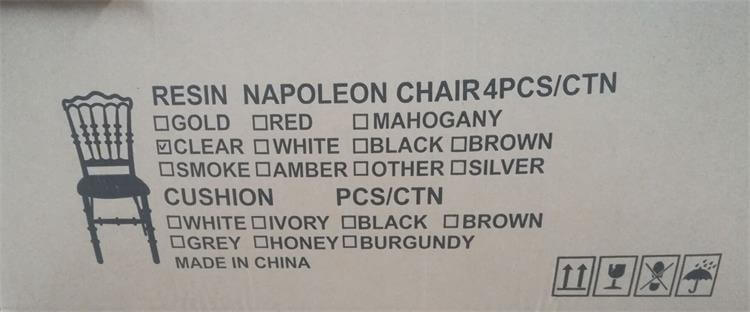 packing size of napoleon chair