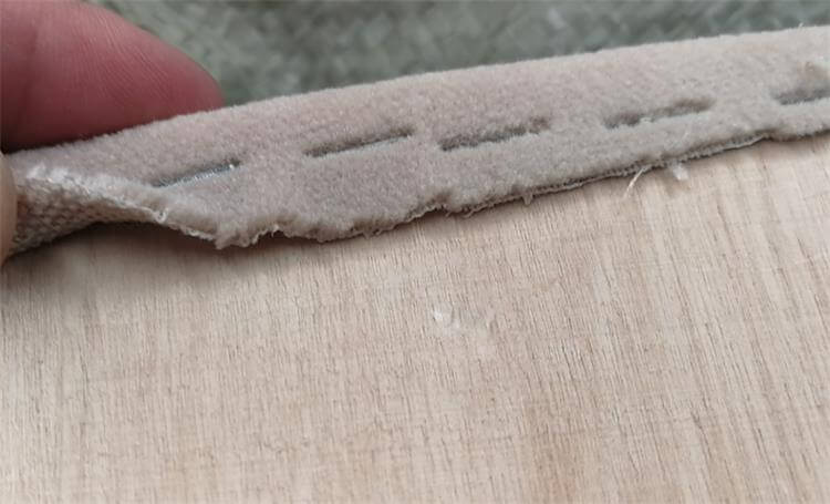thickness of fireproof pads