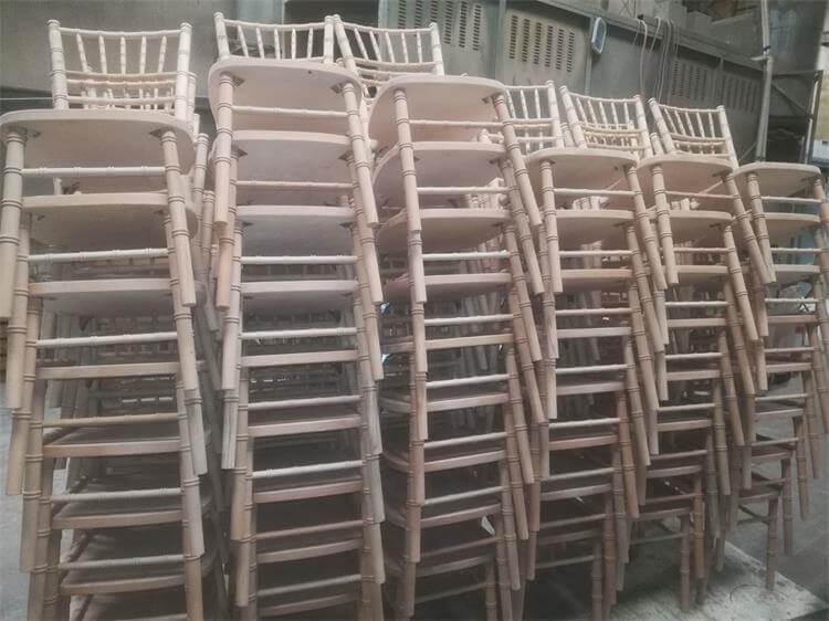 unpainting chairs