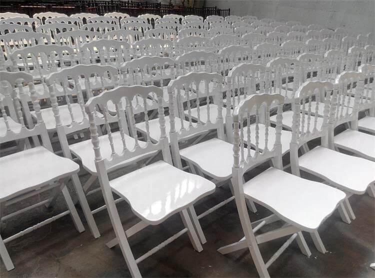 napoleon chairs white