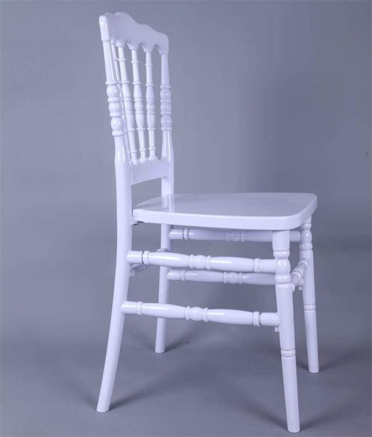 white resin napoleon chairs manufacturer