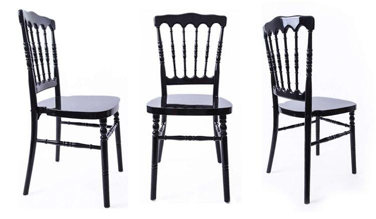 napoleon dining chairs black
