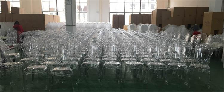 Clear Bella Chairs
