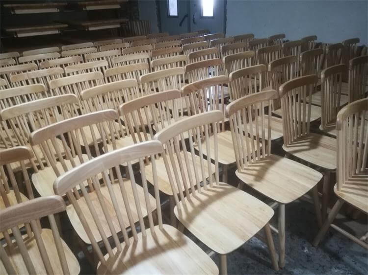 natural wood windsor chairs