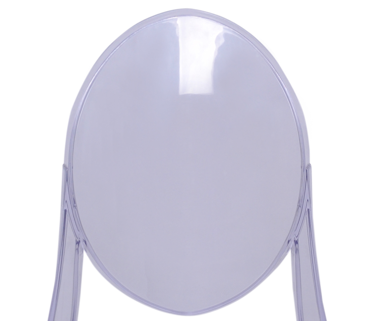 resin victoria ghost chair back