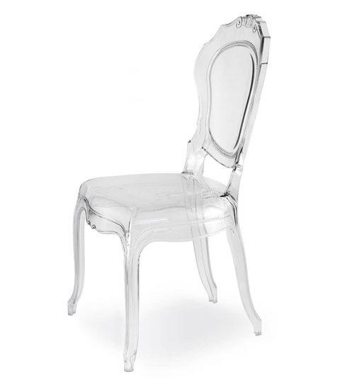 Beautiful Transparent Belle Epoque Chairs
