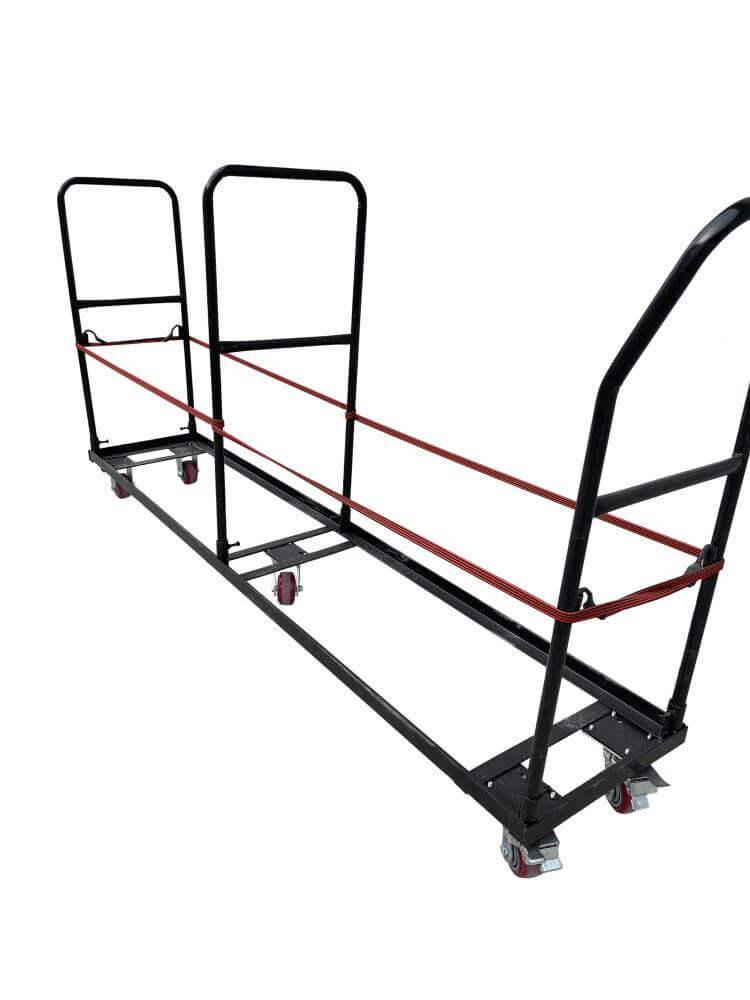 poly folding chair trolley