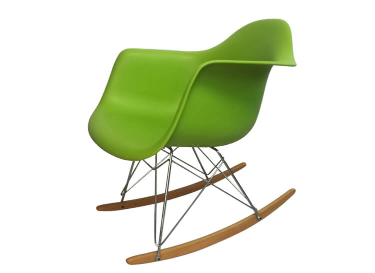 rocking eames dining chairs