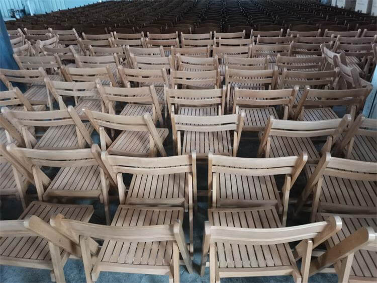 folding chairs natural