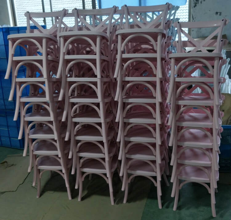 Kids Cross Back Chairs factory