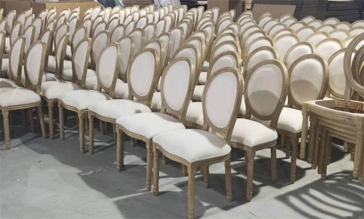 Louis dining chairs production