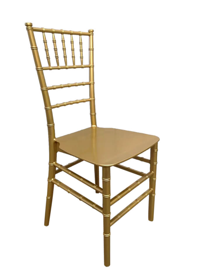 gold chair one piece