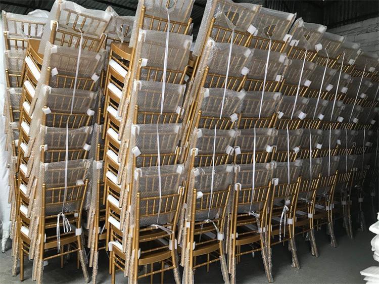gold chiavari chairs factory