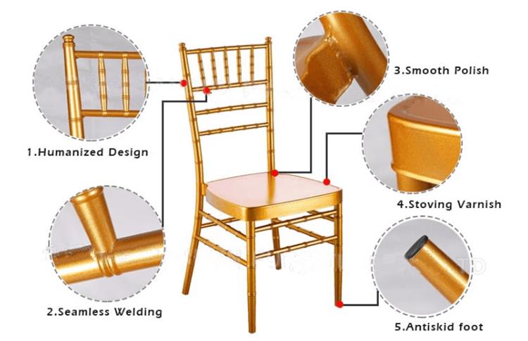 aluminum chiavari chairs