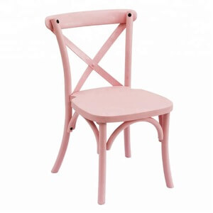Child Size Cross Back Chair