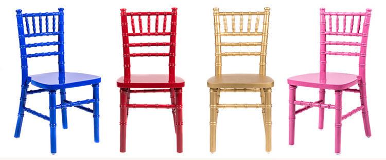 colorful Children's Chiavari Chairs