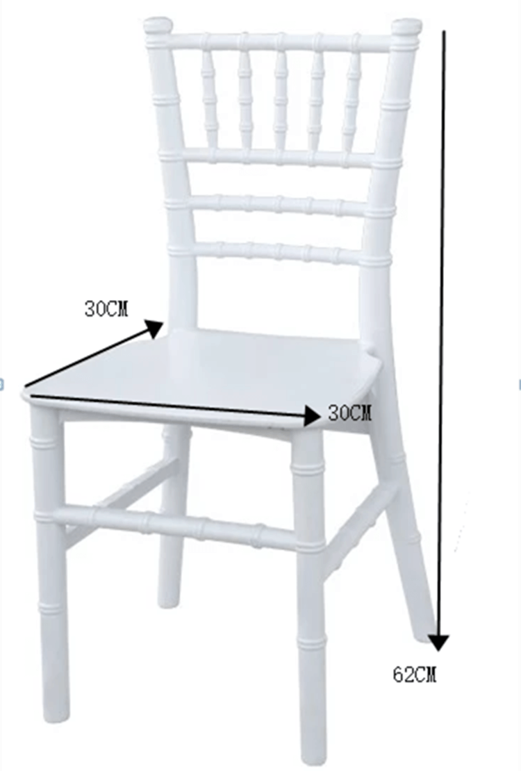 size of kids chairs
