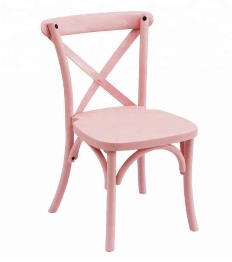 Resin Kids Cross Back Chair