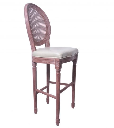 French Style Ghost Chair Louis Bar Stool Ghost Barstool