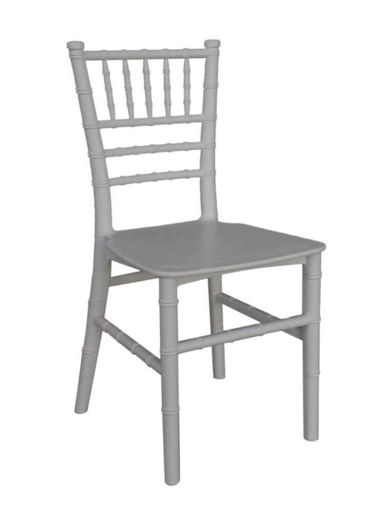 white pp chairs