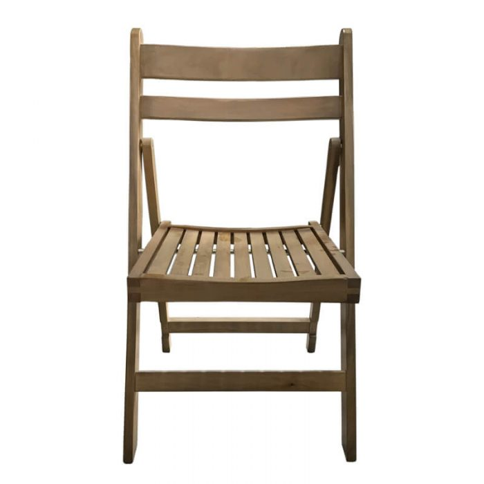 wooden slat folding chairs
