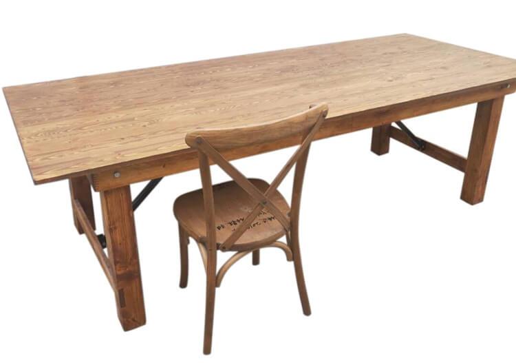 Natural Farmhouse table