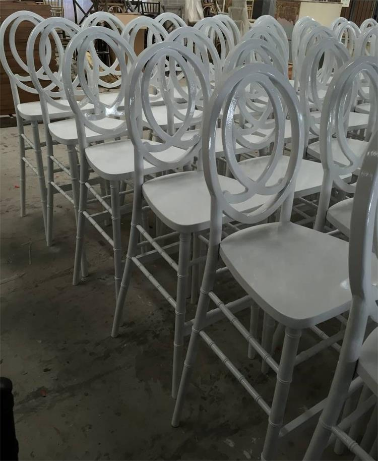 white wood barstools