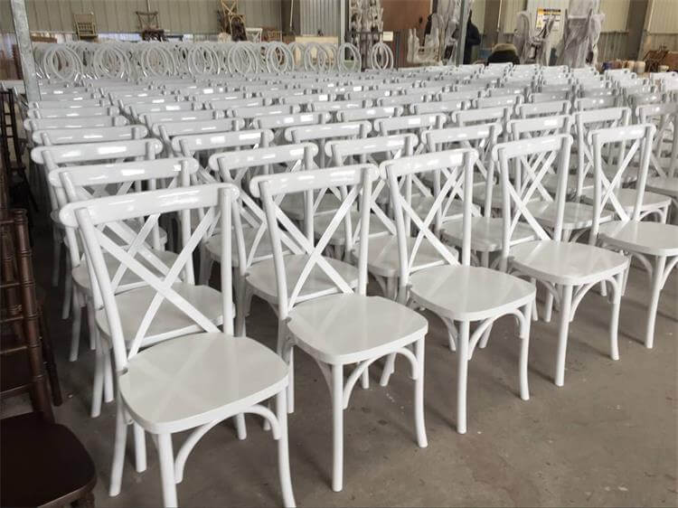 white crossback chairs suppliers