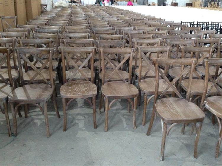 white stone crossback chairs
