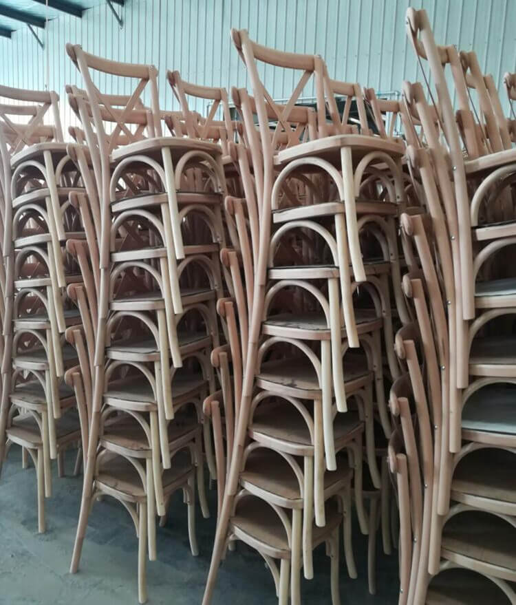 crossback chair mass production