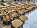 elm wood crossback chairs