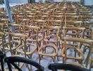 oak crossback chairs finishings