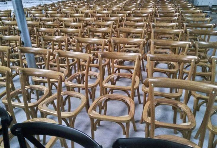 oak crossback chairs finishings