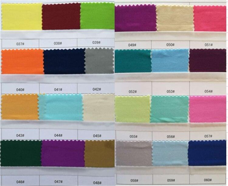 pad cushions color choice