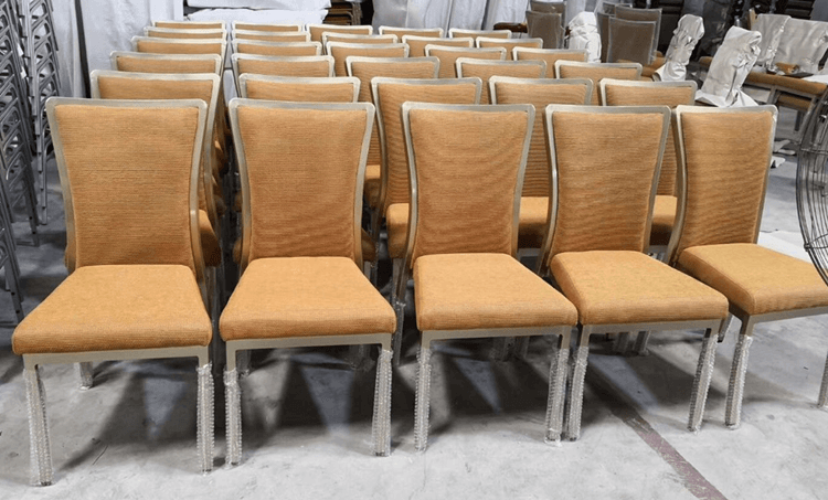 Yellow banquet chairs wholesale