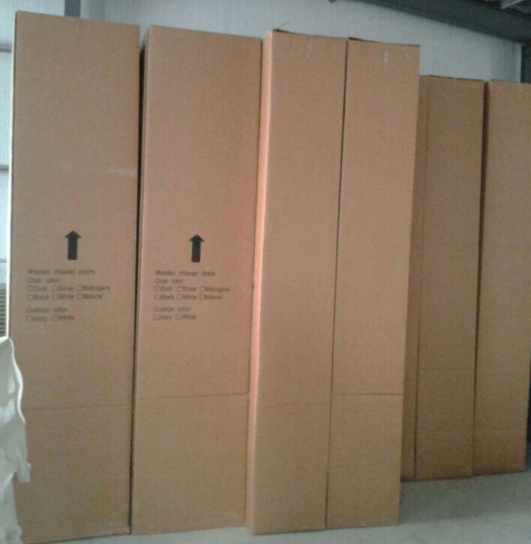 box of chairs