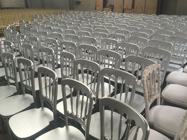 white Chateau Dining Chairs factory