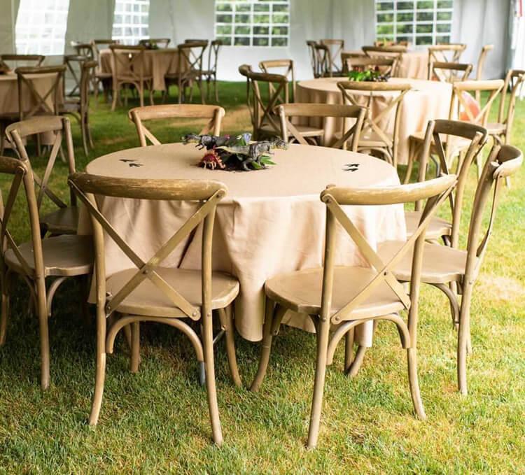 wooden crossback chair supplier