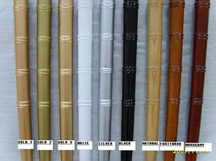 Color swatch of chiavari chairs