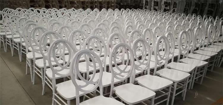 wooden phoenix chair white