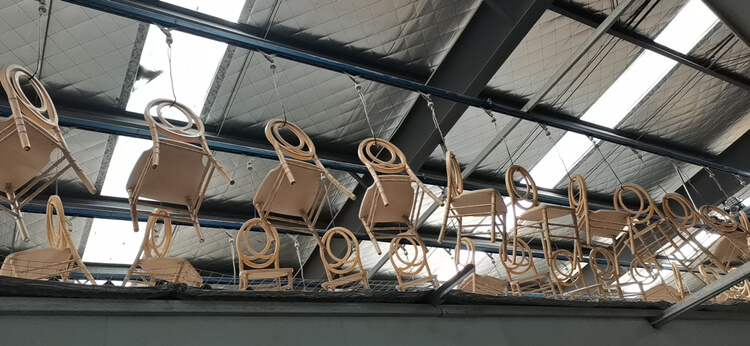 wooden phoenix chair