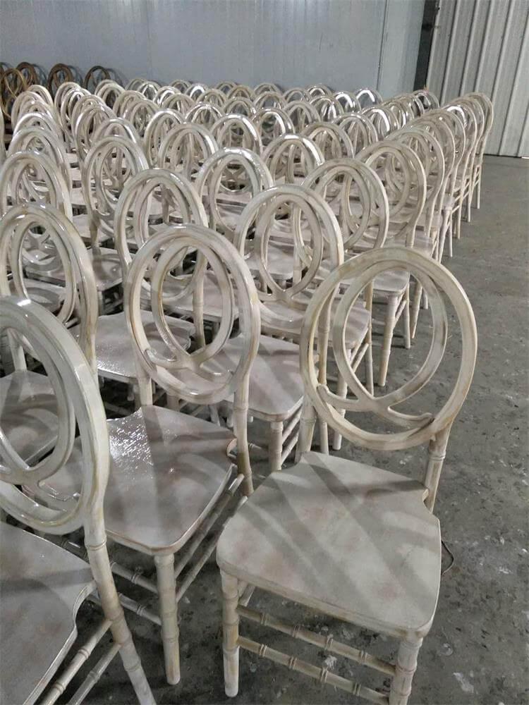 wooden phoenix chairs limewash color