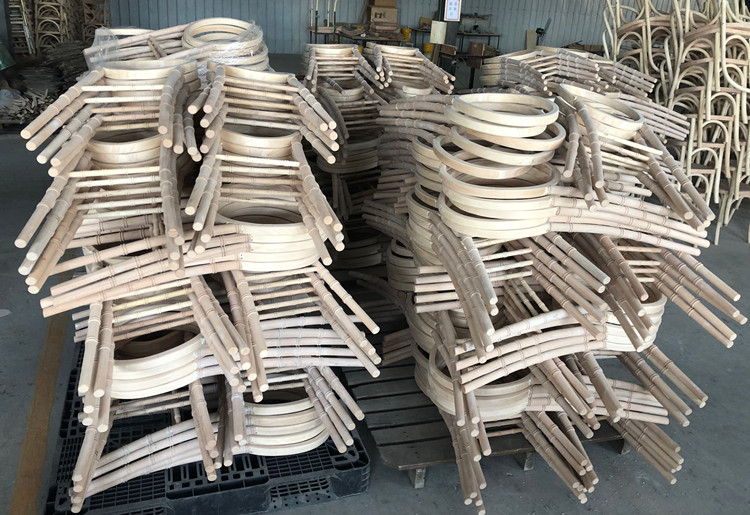 spare part of wood chair