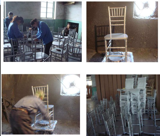 wood cross back chair manufacturing