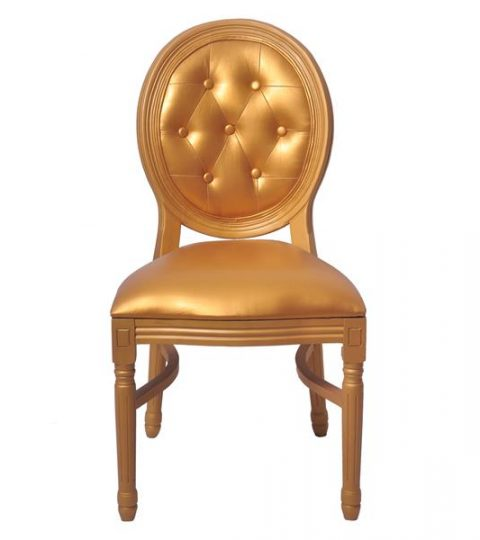 Leather Back Louis Chairs Wholesale