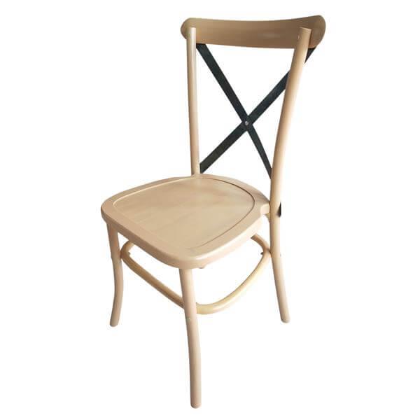 Metal X back Chair wholesale