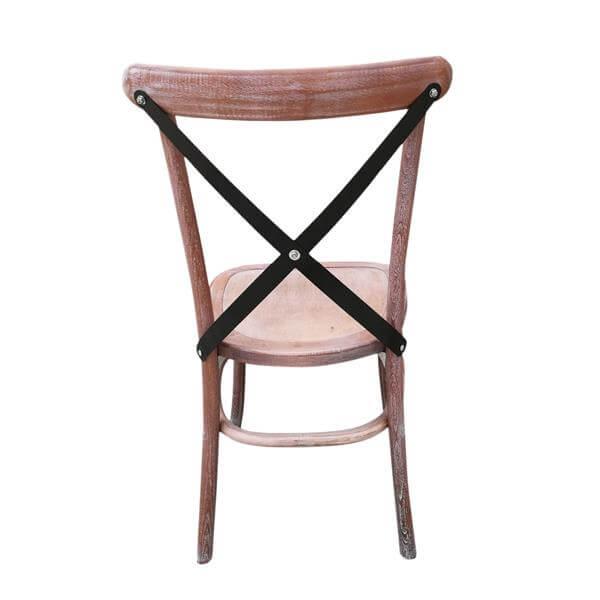 Metal X back Chair supplier