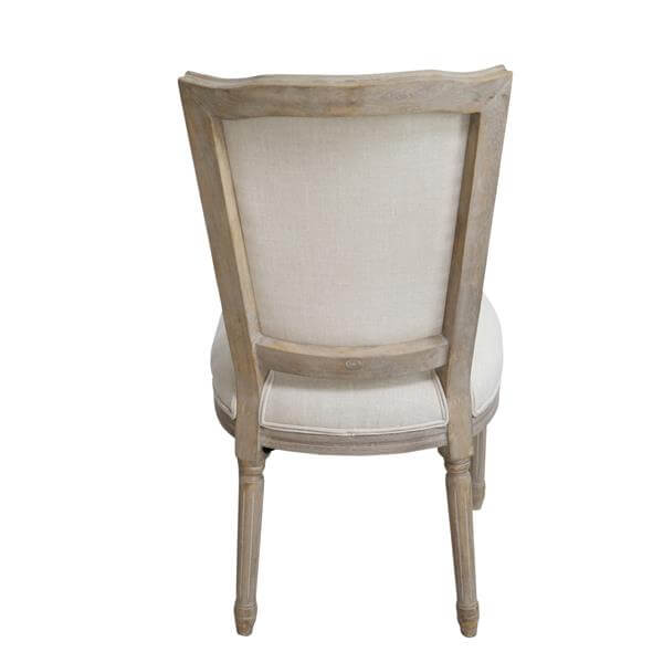 Square back louis chair
